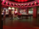 Fans at the Cardinals Museum enjoy the production of #BirdToTheFuture