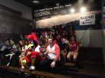 """""""Party Fowl"""" Music video by the Fredheads filming in the Cardinals Museum during the production of #BirdToTheFuture"""