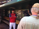 Lance Lynn during the production of #BirdToTheFuture.