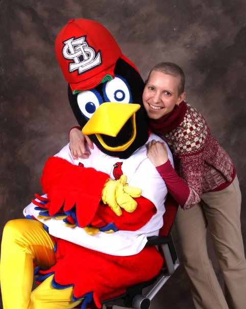 Melody Yount, Manager of Communications, and Fredbird --January 2010.