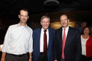 Cardinals Team President Bill DeWitt III, Commissioner Bud Selig, and Cardinals Chairman & CEO Bill DeWitt Jr.