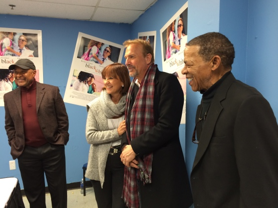 Ozzie Smith, Debbie Dennler, Kevin Costner and Ted Savage