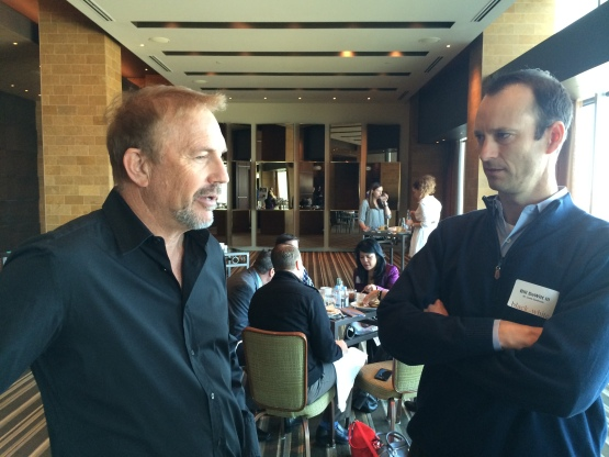 Kevin Costner & Bill DeWitt III talk about the film Black or White