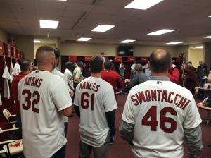 Cardinals Caravan at Hammons Field in Springfield.