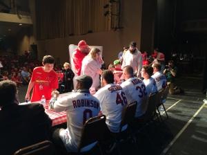 Cardinals Caravan at the Taylor Performing Arts Auditorium at MSSU in Joplin