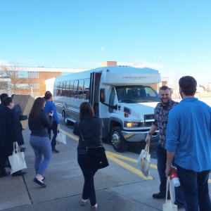 Help arrives.  An alternative bus is dispatched from Springfield to take the group from Joplin to Rolla.
