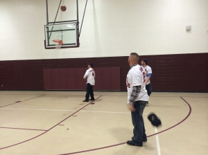 Good at more than one game!  The Cardinals put on a shooting clinic at Rolla High School