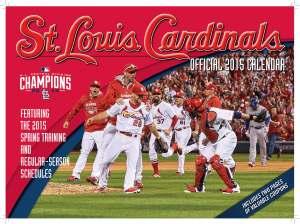 2015 CARDINALS CALENDAR COVER