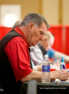 Still signing after all these years, Mike Shannon.