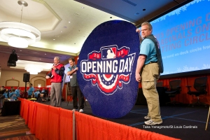 Opening Day Batting Circle goes up for auction.